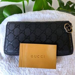 Authentic Gucci imprime wallet
